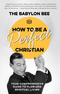 How To Be A Perfect Christian Book Review - Book Cover